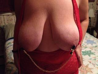 I would have to agree with her, and the nipple clamps are very nice.