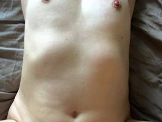 like my tits while he fuck me hard and deep??