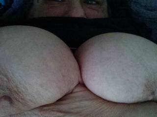 One of my older friends big tits