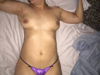 My sexy wife in bed