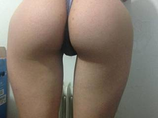 Showing my ass in my new panties I know you wanna fuck me tell me how