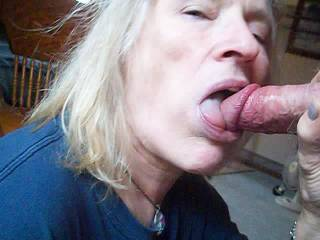 """New slut in the neighborhood give my crusty cock a """"morning after"""" cleaning."""