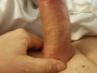 my fuck buddy has a thick dick.