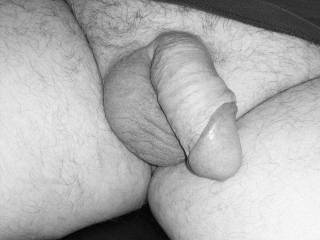 Rare pic of my soft cock
