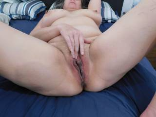 I\'m getting nice and wet for a hard cock