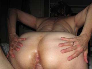This pic motivates her to spread and bonce on my cock.