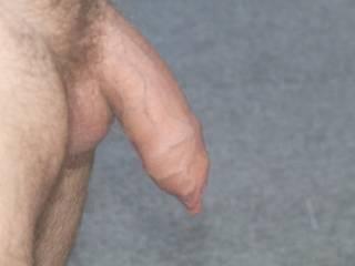 uncut cock stroke my heavy foreskin :)