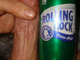 Probing Cock / Thick head / Goes down smooth / 'Der rink' it in!