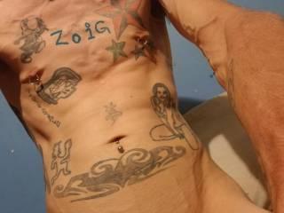 Hubby tattoos