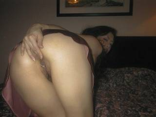 wow that's one hot piece ass ass. I'd love to tap that good and HARD