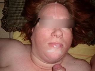 Another facial for Linda