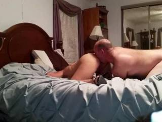 Oh yeah.....licking deep in that tight MILF ass!