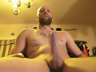 My dick is so hard I'm so close to blowing a really big load