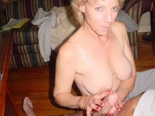 THERE IS NOTHING LIKE A GOOD WOMAN TO RUB YOUR COCK....