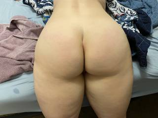 This is my wife's perfect sexy ass, she doesn't like it but I love it, what do y'all think??