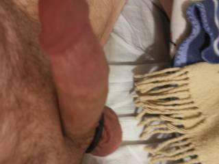 Another Angle of my super hard dick and head just wanting to fuck a tight pussy or ass! Maybe it could be you next time?