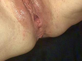 my pussy was wet and sweaty from the gym, want to sniff and pump your cock??