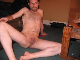 naked...