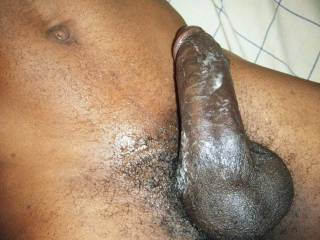 who wants to lick all the cum off