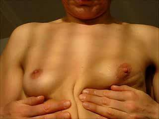Oh yes, yes, yes, I definitely want your gorgeous tits are absolutley stunning and first class, I love them and would love to spend as long as you did just playing with them, sucking on and chewing on your lovely nips, no, I'd spend much longer playing with them, they are superb, thanks for a brilliant vid!!!!
