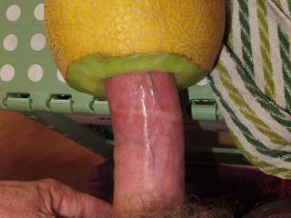 Slowly introducing my big dick and fucking a fresh juicy gaping melon hole