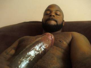 mount me nice and slow. leaving a nice wet trail of pussy juice on my cock