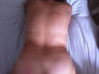being fuck by a black thick cock, who want to spread a huge warm load over my back??