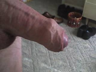 Mmm mm mmm! Thick, uncut, and unshaved!  I got a nice WARM place for that yummy looking cock!! thank you for sharing...mmm