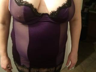 Wife has started to get excited about the results of her posting on zoig and the many comments she has received. She has gotten some really great responses from a special Zoig member (Joker), her tits look great in this.