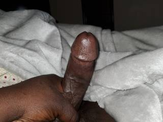 This dick is ready to be bounced on by some hot wet pussy.