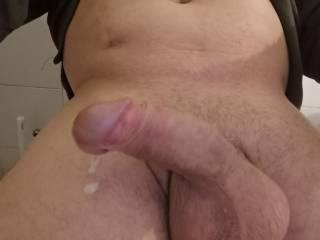 My dick is cuming