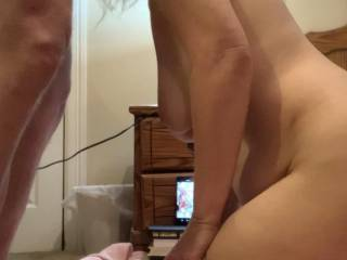 Taking my cock