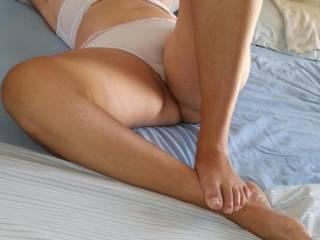 My opened legs