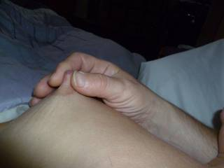 I'll squeeze and pull on your nipples while you ride my cock