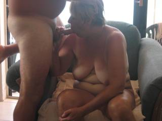 Think she knows how to suck a cock