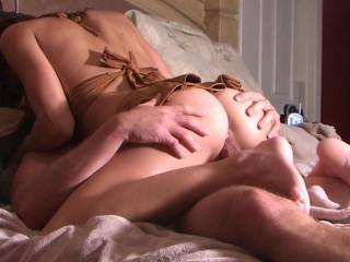 grrrr, nothing feel better to pump the hot fresh load deep in the pussy^^