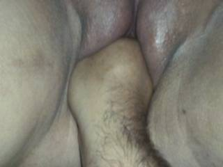 Fisted pumped pussy