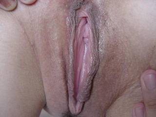You said it..OMG.  My tongue would have fun in that sweet pussy.  She woud go nuts from the way I would use my tongue, lips and fingers on it. I know she will have several orgasms by the time I finish with her hot pussy. Love it.