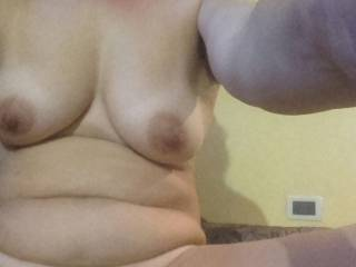 with my pussy open for you