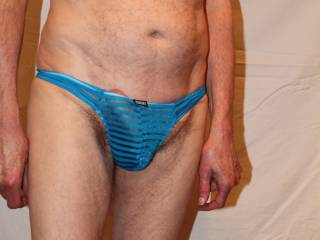These undies really are quite a snug fit !!