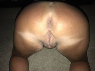 wife`s ass and smooth pussy