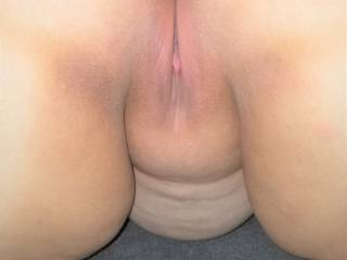 Bent over ready to take a thick hard cock nice and deep - who'd like to fill my pussy up?