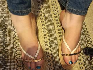 Wife sexy feet