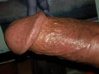 head of penis and veins