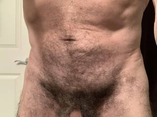 I love being naturally hairy, do you like it?