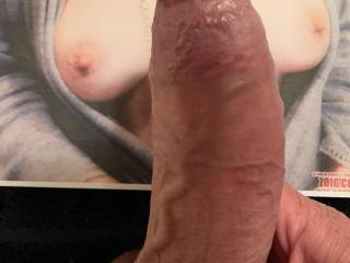 A tribute from Crescendo! I love his gorgeous big cock rubbing between my tits! Thank you!