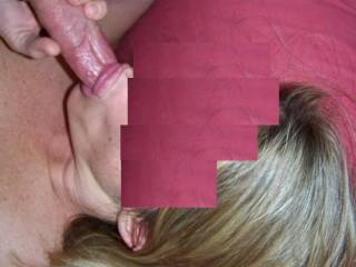 Wish that was MY cock!!! Would LOVE to have you suck it all down and then I want to fuck your sweet pussy too!!!