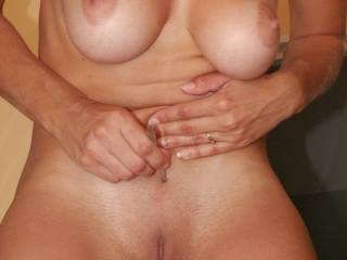 Gorgeous smooth pretty little sexy pussy clean and ready for a good long erotic licking for orgasm after loud moaning gushing wet orgasm, I'll keep licking and you keep cumming!! MMMMMMMMM delicious!  :-)