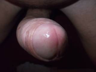 that nice shiny cock head looks very lickable and suckable - am sure he tastes every bit as good as he looks mmmmm