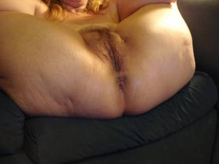 By far my favorite pose and you look soooo fucking hot! So glad you love sharing your curvy ass with everyone.  :)